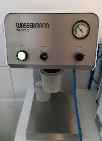 Wassermann Wamix 2 Vakuumanmischgerät Vakuummischer