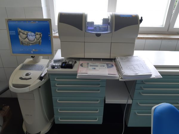 Sirona Cerec AC +Cerec MC XL Schleifeinheit /Fräsmaschine CAD/CAM