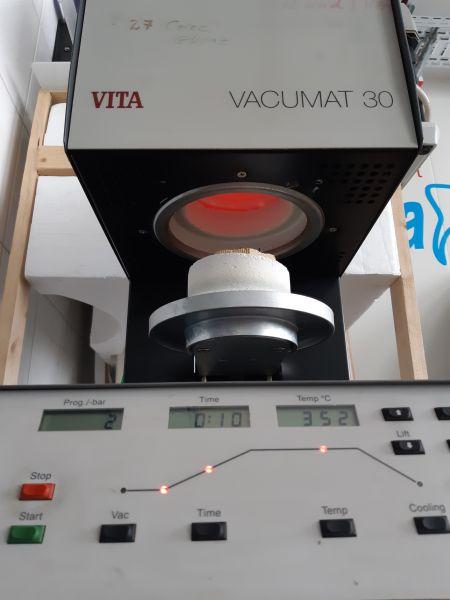 Vita Vacumat 30 Keramikofen mit Vakuumpumpe Keramikbrennofen