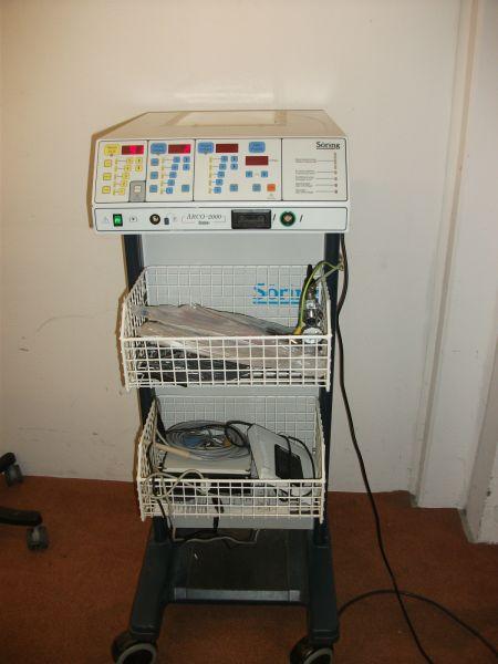 ARCO 2000 HF von Söring Chirurgiegerät mit Argongasunterstützung + Zubehör
